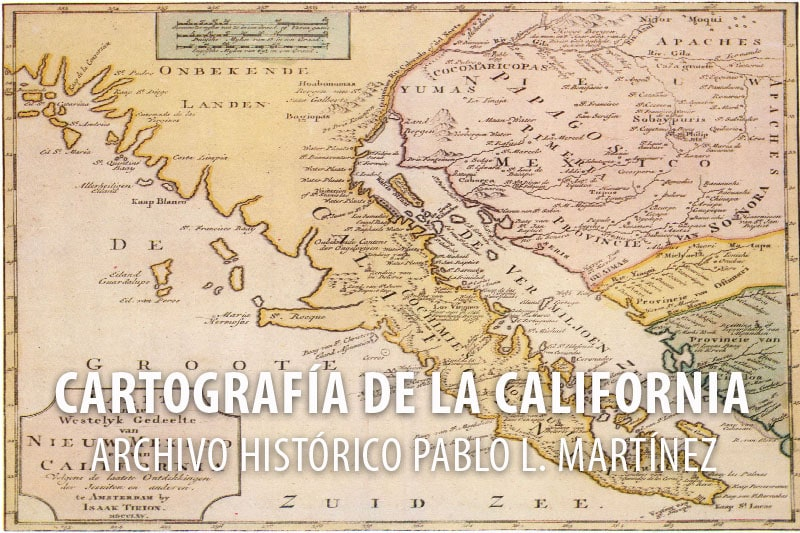Cartografia de la California